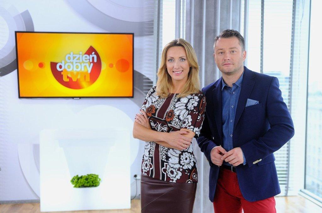 Anna Kalczyńska, Jarosław Kuźniar razem po raz pierwszy w 'DD TVN'