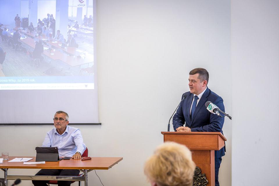 Prezydent Jacek Wójcicki otrzymał absolutorium za budżet 2019