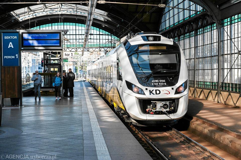 Środki z UE Koleje Dolnośląskie wydają m.in. na nowe pociągi