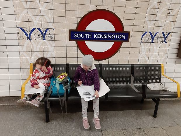 Córki Joanny w Londynie