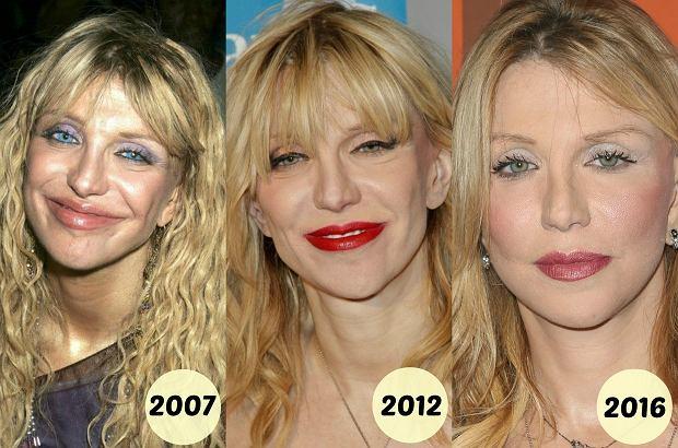 Zdjęcie numer 3 w galerii - Courtney Love tak wyglądała pół roku temu. Dziś ma