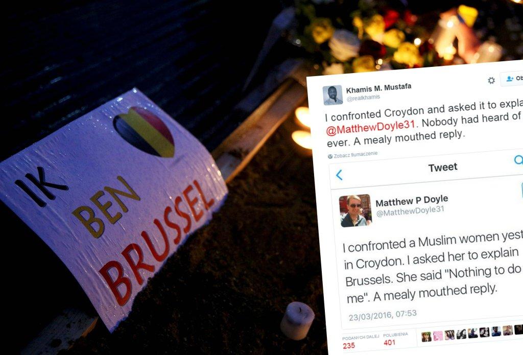 Żałoba po atakach terrorystycznych w Brukseli