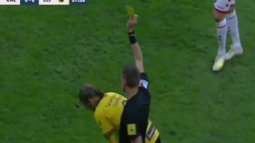 Paweł Skibicki właśnie otrzymał żółtą kartkę