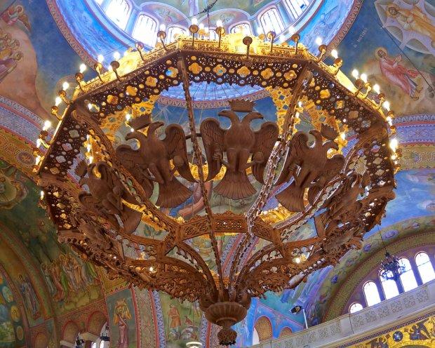 Wnętrze bazyliki św. Andrzeja w Patras