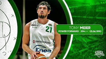 Tony Meier w sezonie 2019/2020 zagra dla Stelmetu Enea BC Zielona Góra