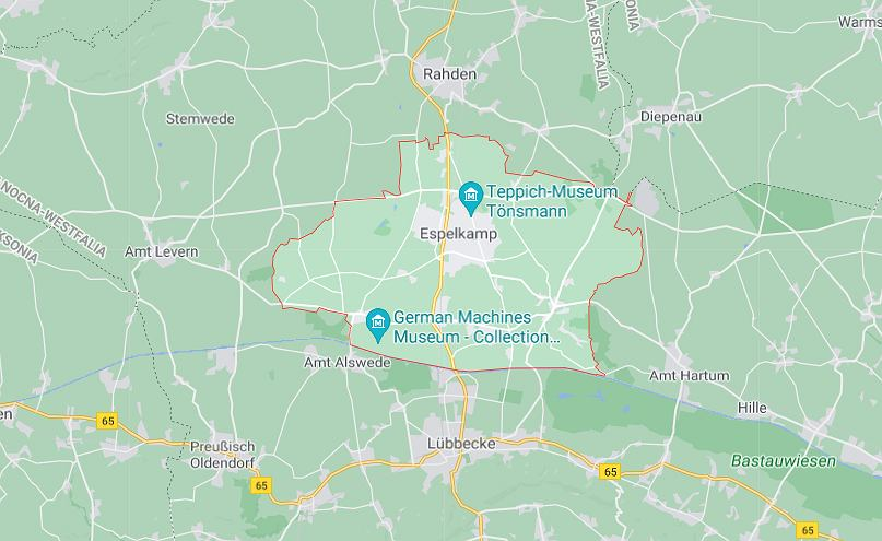 Espelkamp na zachodzie Niemiec - miejsce strzelaniny