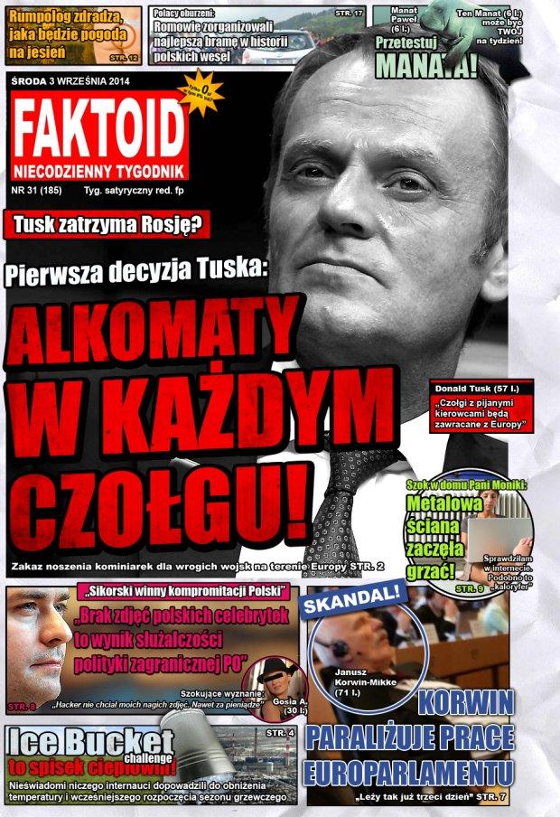 Faktoid, 3 września 2014, nr 31 (185) -  - Faktoid