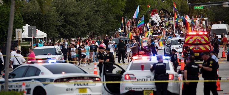 USA. Furgonetka wjechała w uczestników marszu równości. Są ofiary