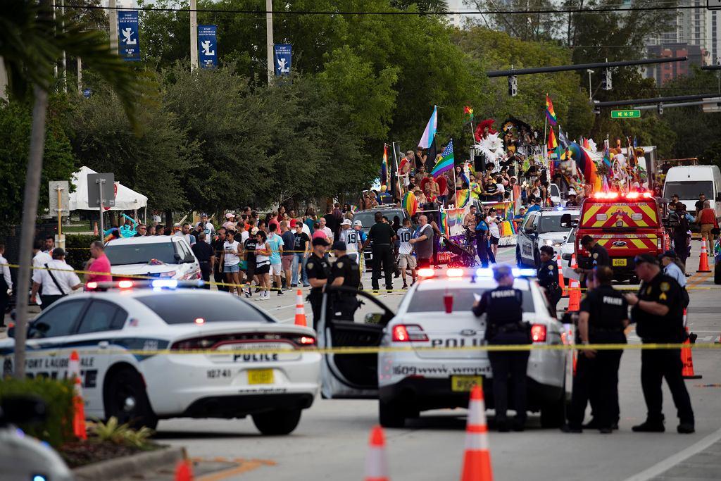 USA. Furgonetka wjechała w uczestników marszu równości