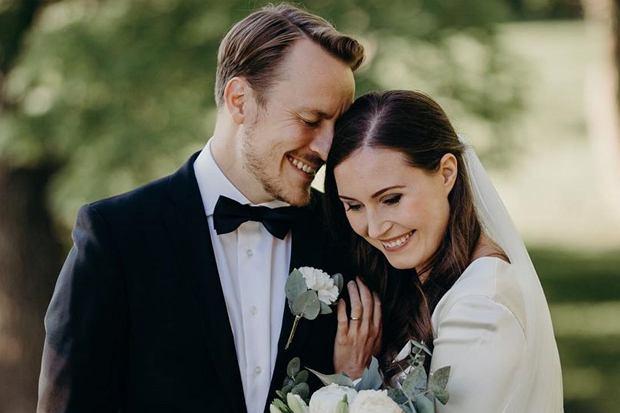 Najmłodsza premier świata stanęła na ślubnym kobiercu 1 sierpnia 2020 roku. Sanna Marin i Markus Raikkonen znają się nie od dziś.