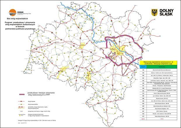 Program przebudowy i utrzymania dróg wojewódzkich realizowanych w formule partnerstwa prywatno publicznego