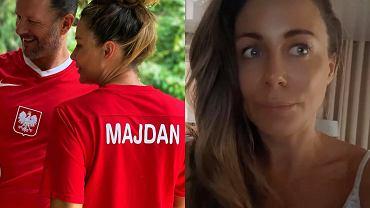 Małgorzata Rozenek komentowała mecz Polska-Szwecja - byłą pod wrażeniem bramkarza przeciwników