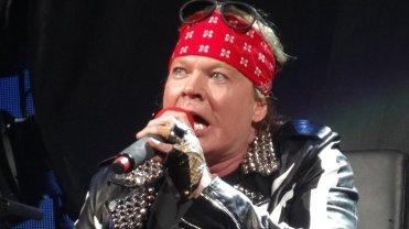 Axl Rose podczas koncertu Guns 'N Roses w Las Vegas w 2016 roku