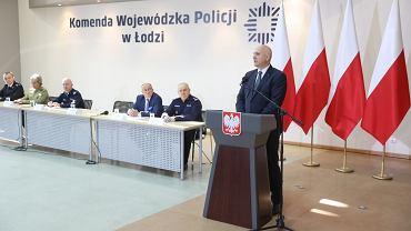 Joachim Brudziński w Łodzi