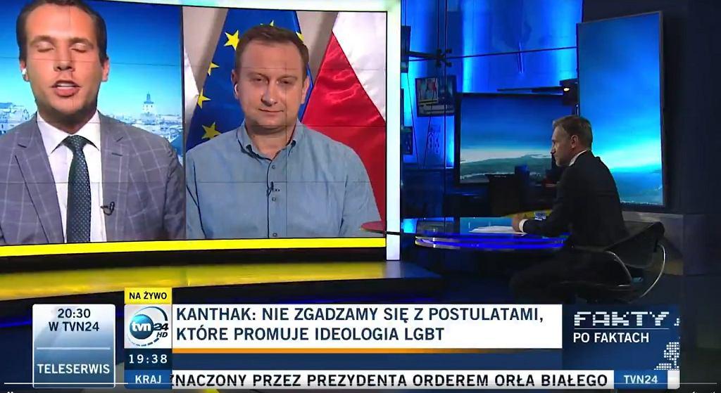 Rozmowa Jana Kanthaka z Piotrem Kraśką