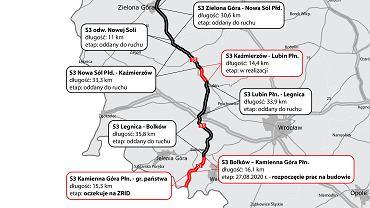 Trasa S3, Bolków - Kamienna Góra
