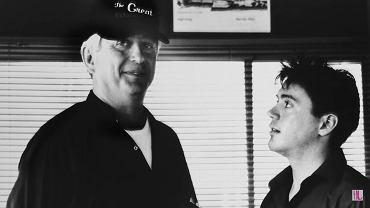 Robert Downey Sr. z synem Robertem.