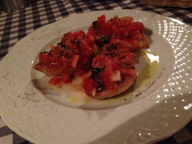 Bruschetta w Toscanie