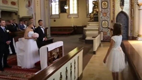 Ślub pary z Czerska