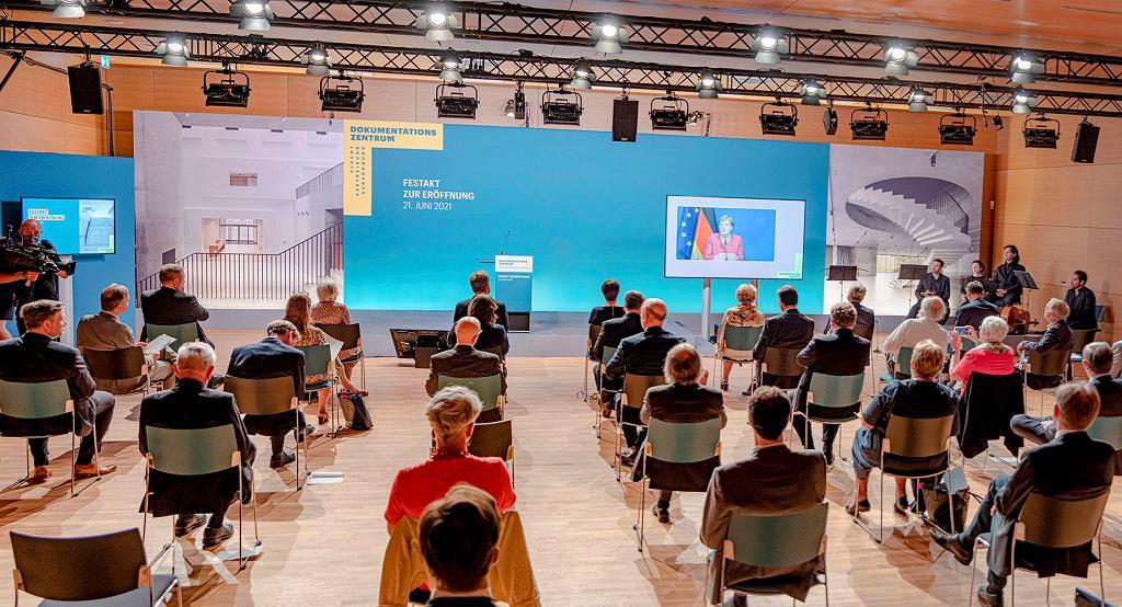 Uroczystość otwarcia Centrum Dokumentacji Przesiedleń, Wypędzeń, Pojednania w Berlinie