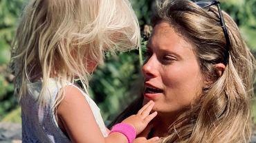 Julia Pietrucha z córką
