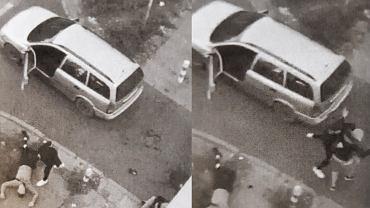 Brutalny atak na ulicach Warszawy. Kierowca z Gruzji uratował napadniętego 20-latka (fot. KRP w Warszawie)