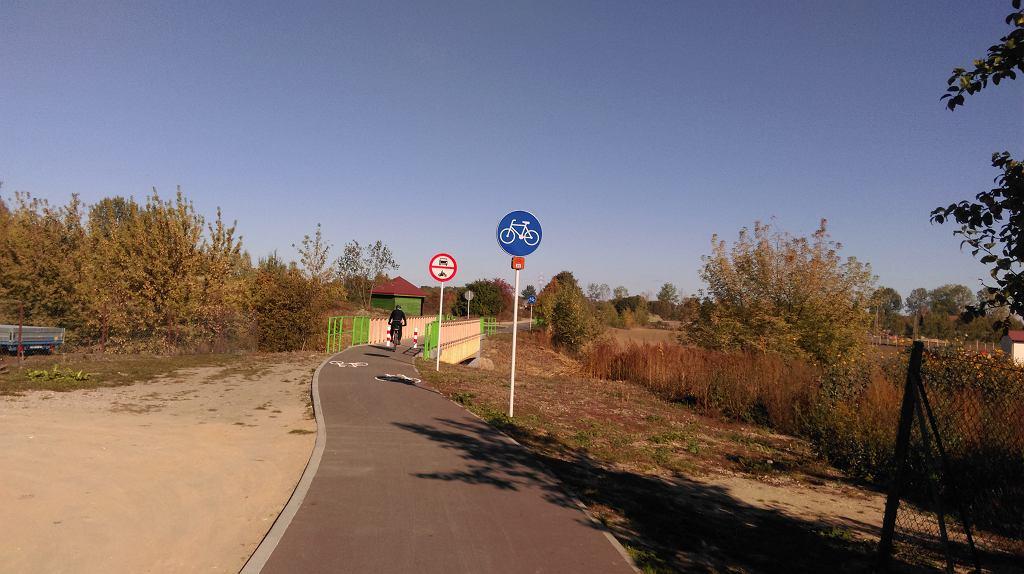 mostek tylko dla rowerów