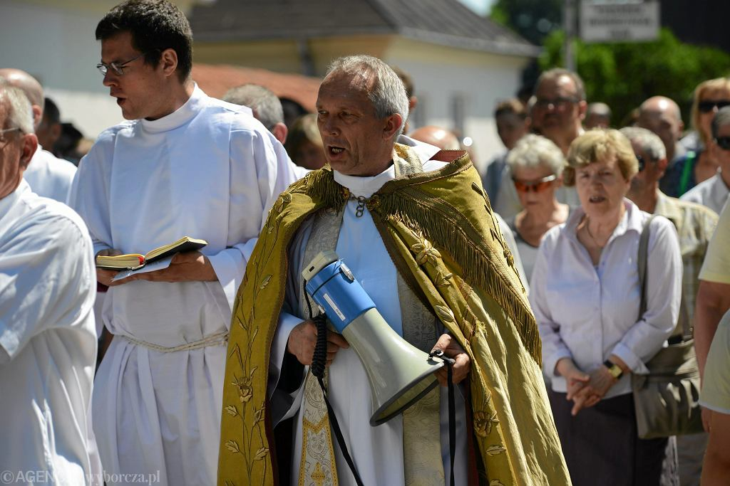 Odpust parafialny na Zesłanie Ducha Świętego w Warszawie 07.06.2014