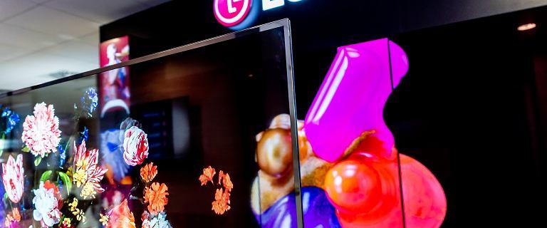 Przezroczysty telewizor LG trafia do Polski. Imponuje wyglądem