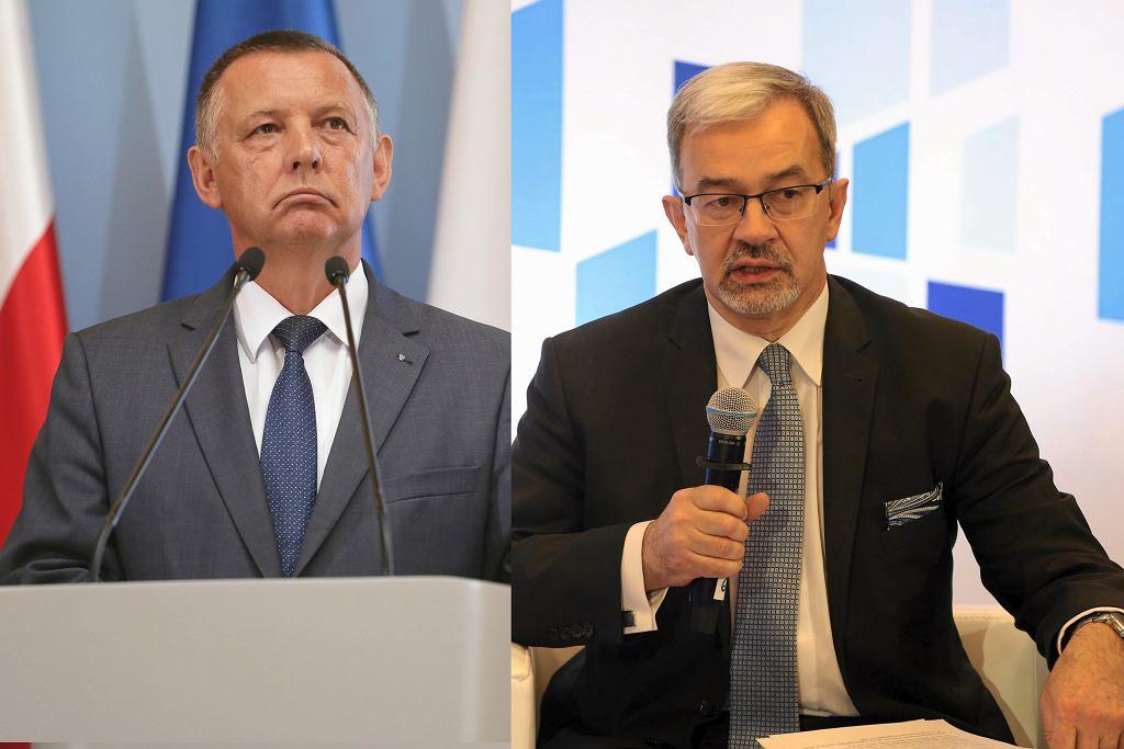 Marian Banaś, szef NIK / Jerzy Kwieciński, minister finansów