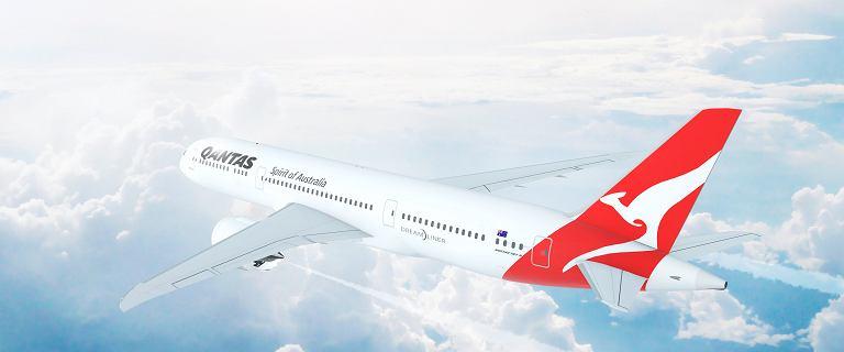 Najdłuższy lot świata trwa. Samolot linii Qantas będzie 20 godzin w powietrzu