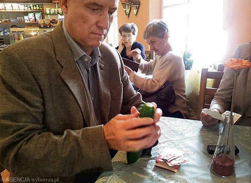 Maciej Prochowski, lekarz, szef komisji konkursowej