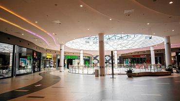 11.03.2018, Poznań, centrum handlowe Avenida w niedzielę z zakazem handlu.