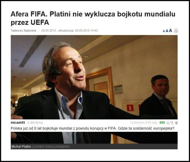 Zdjęcie numer 0 w galerii - Najlepsze komentarze czytelników Sport.pl [MAJ]