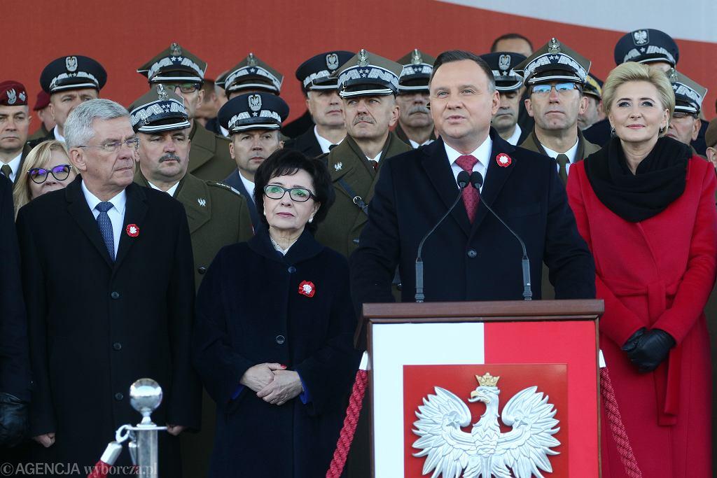Przemówienie Andrzeja Dudy z okazji Święta Niepodległości