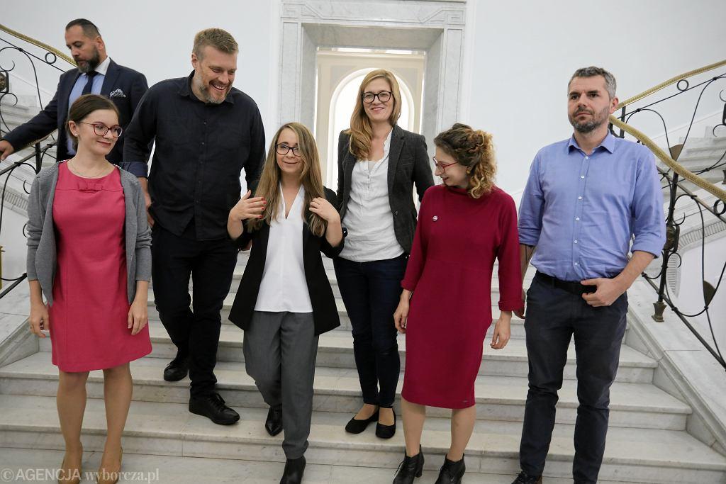 Posłowie partii Razem w Sejmie.