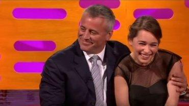 """Matt LeBlanc i Emilia Clarke w """"The Graham Norton Show"""""""