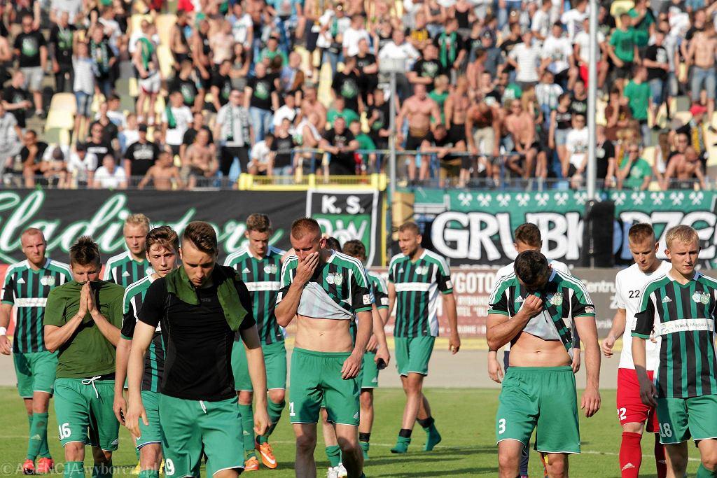 Piłkarze z Rybnika wypuścili w poprzednim sezonie awans z rąk