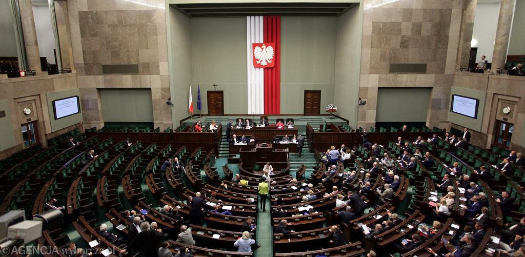Wybory parlamentarne 2019. Posiedzenie Sejmu
