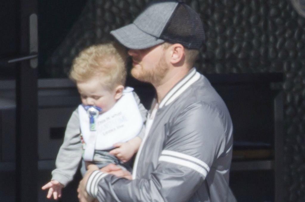 Michael Buble z synem