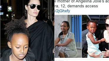 Biologiczna matka Zahary Jolie-Pitt, Zahara Jolie Pitt, Angelina Jolie