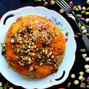 Naleśniki bezglutenowe z persymoną (kaki) - idealne na romantyczną kolację