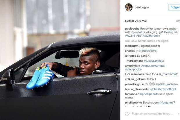 Instagram Paul Pogba