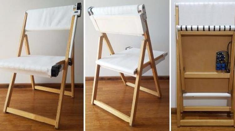 Krzesło, któr samo się dezynfekuje