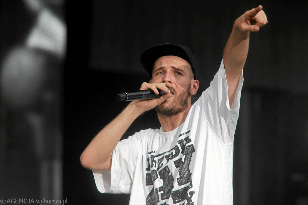 O.S.T.R. podczas koncertu Męskie Granie (Wrocław 2013) / )Fot. Mieczysaw Michalak / Agencja Gazeta