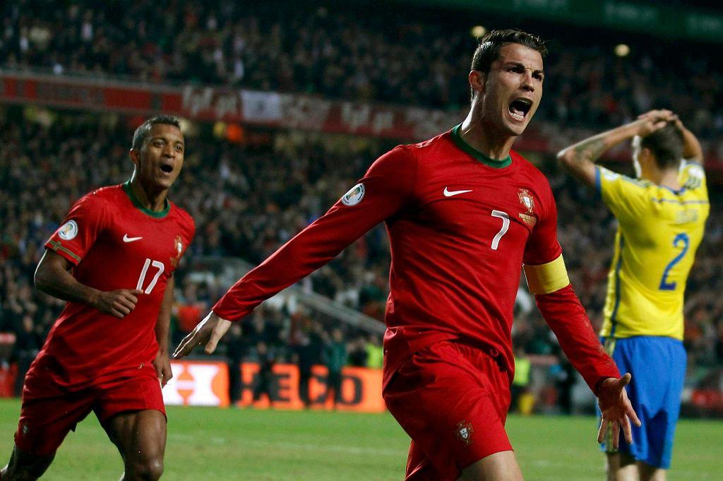 Nani i Cristiano Ronaldo