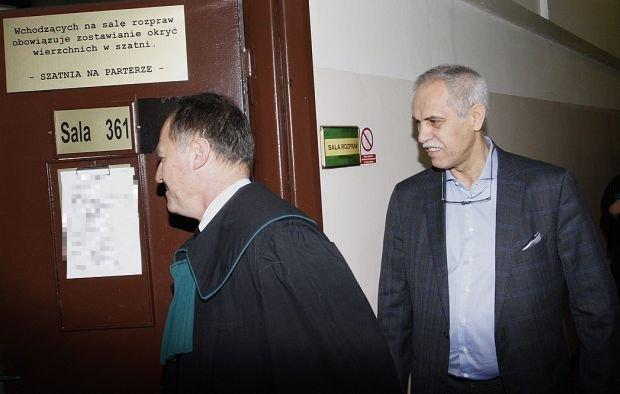 Zygmunt Solorz-Żak w sądzie