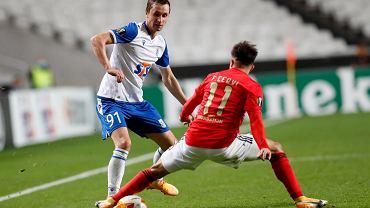Benfica - Lech Poznań 4:0. Bohdan Butko