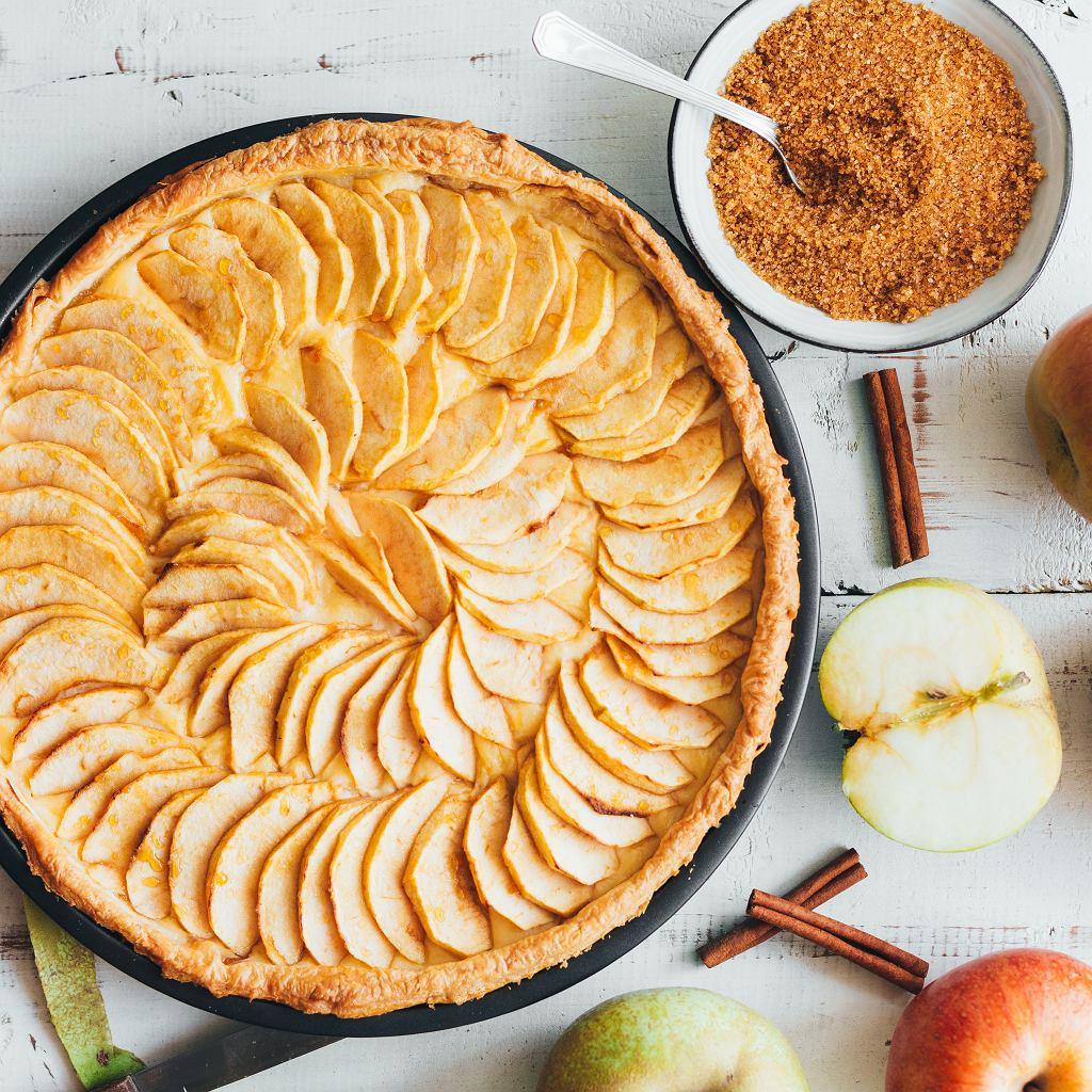 Waehe, ciasto z jabłkami