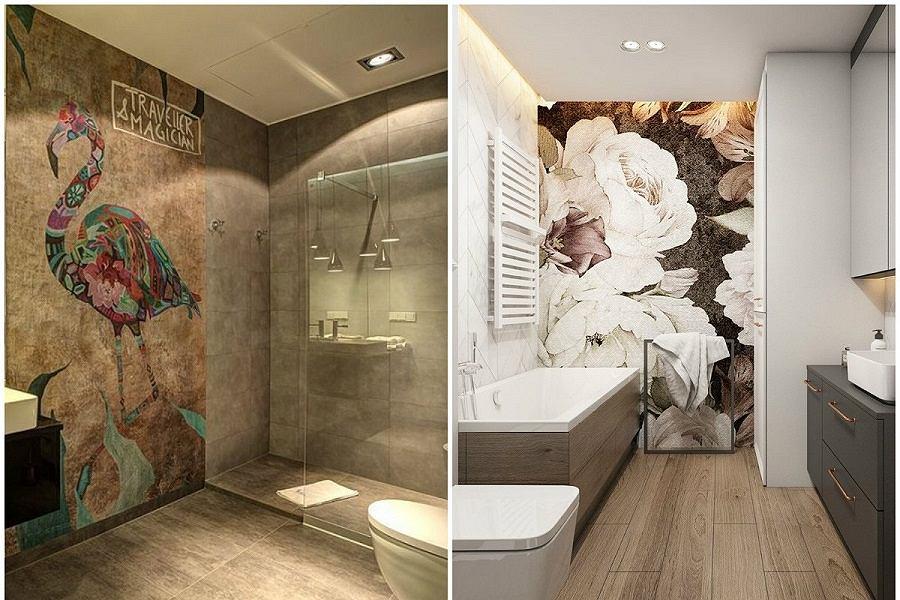 Tapety do łazienki muszą spełniać odpowiednie wymogi.